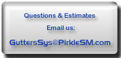 Gutters - Pirkle Sheet Metal Fabricators, Custom Sheet Metal & Gutter Systems - PSM